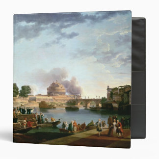 The Election of the Pope with Castel St. 3 Ring Binder