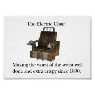 The Electric Chair Poster