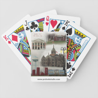 The Electric City playing cards