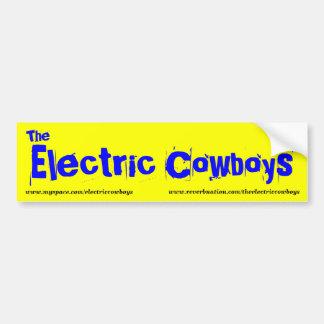 The Electric Cowboys bumper sticker