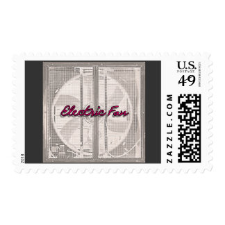 The Electric Fan Postage Stamp