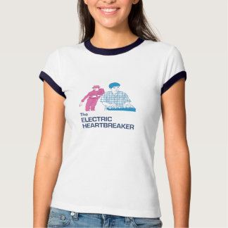 The Electric Heartbreaker Pink&Blue - Womens T-shirt