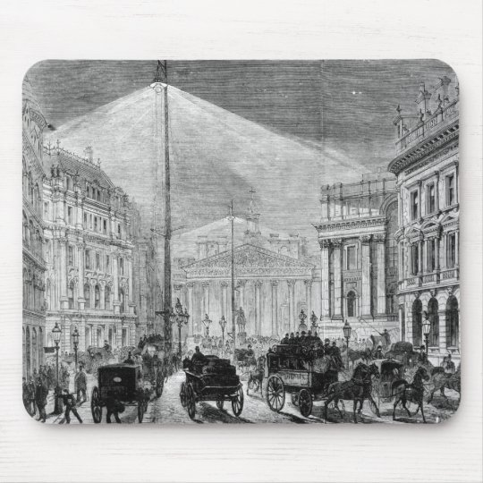 The Electric Light at the Mansion House Mouse Pad