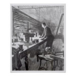 The Electric Light Print