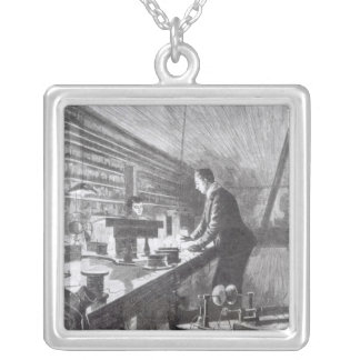 The Electric Light Silver Plated Necklace