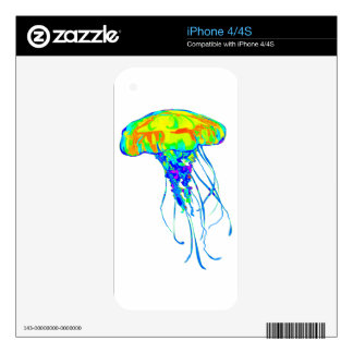 THE ELECTRIC PULSE DECALS FOR iPhone 4S