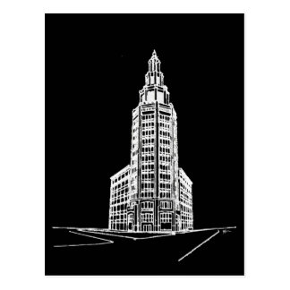 the Electric Tower / Black Postcard