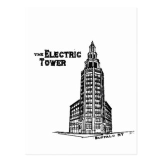 the Electric Tower Postcard