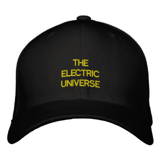 The Electric Universe Embroidered Hat