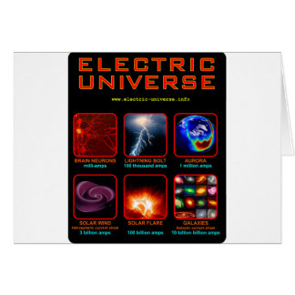 The Electric Universe Greeting Cards