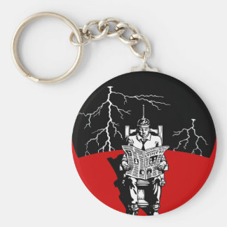 The Electrical Chair Keychain