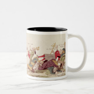 The Electrical Spark of Liberty' Two-Tone Coffee Mug