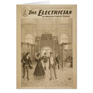 The Electrician Retro Theater Card