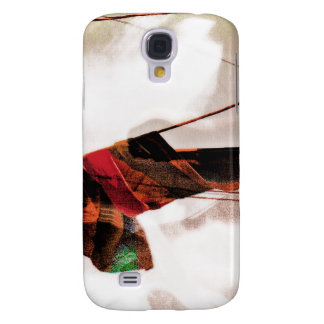 The Electrik Flagg Orange/red/green Galaxy S4 Case