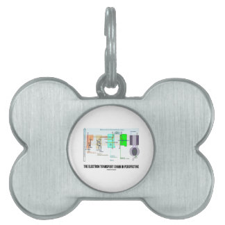 The Electron Transport Chain In Perspective Pet ID Tag