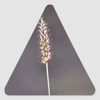 The elegance is in the natural thing! triangle sticker