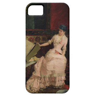 The Elegant Connoisseur, 1883 (oil on canvas) iPhone 5 Covers