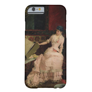 The Elegant Connoisseur, 1883 (oil on canvas) iPhone 6 Case