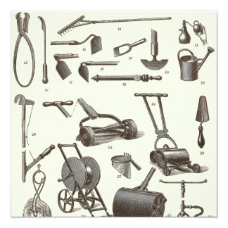 Antique Garden Tools Gifts on Zazzle