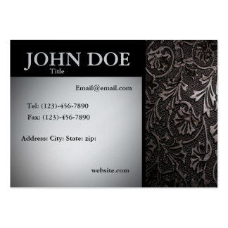 The Elegant Professional Large Business Cards (Pack Of 100)