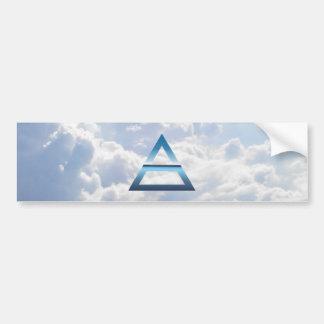 The Element Air Symbol Bumper Sticker