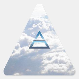 The Element Air Symbol Triangle Sticker