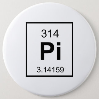 The Element of Pi Pinback Button