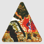 The elemental Forces.jpg Triangle Sticker