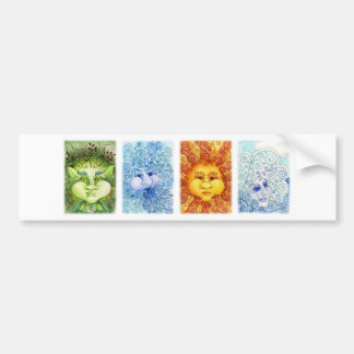 The Elements Bumper Sticker