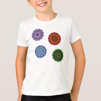 The Elements Mandalas Kid's and Baby Light Shirt