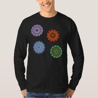 The Elements Mandalas Men's Dark Shirt