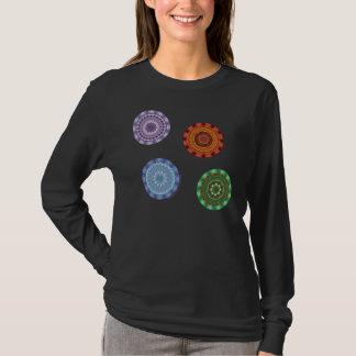The Elements Mandalas Women's Dark Shirt