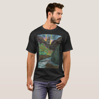 The Elements mens black tee shirt