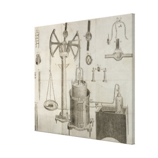 The Elements of Chemistry' Canvas Print