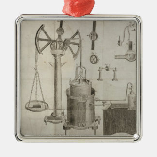 The Elements of Chemistry' Metal Ornament