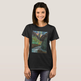 The Elements womens black tee shirt