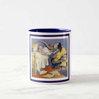 The Elephant and Taft Two-Tone Coffee Mug