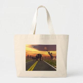 The Elephant and the Donkey bag