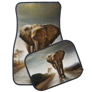 The Elephant Car Floor Mat