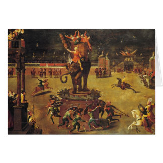 The Elephant Carousel Card