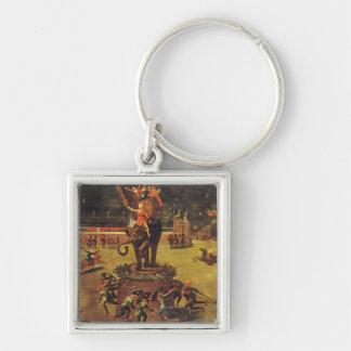 The Elephant Carousel Keychain