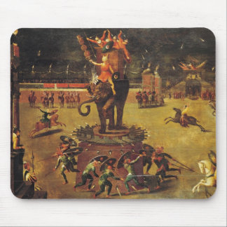 The Elephant Carousel Mouse Pad