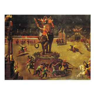 The Elephant Carousel Postcard