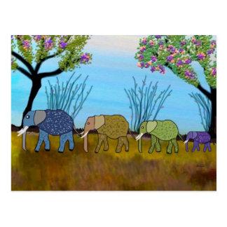 The Elephant Habitat Postcard
