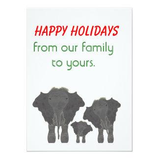 The Elephant Invasion Card