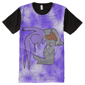 The Elephant Lady Takes A Bow After Her Performanc All-Over Print T-shirt