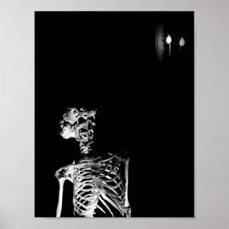 The Elephant Man's Skeleton Poster