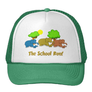 The Elephant School Run Trucker Hat