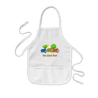 The Elephant School Run Kids' Apron