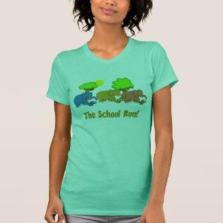 The Elephant School Run T-Shirt